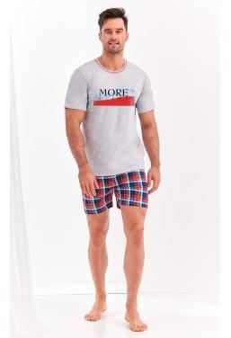Piżama męska koszulka z...