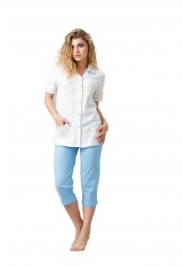 Rozpinana piżama damska...