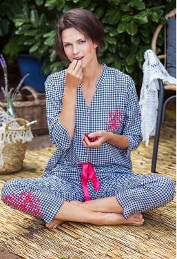 Piżama damska z wiskozy Key...