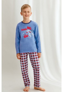 Piżama chłopięca bawełniana...