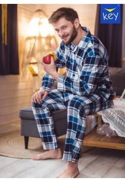 Piżama męska rozpinana z...