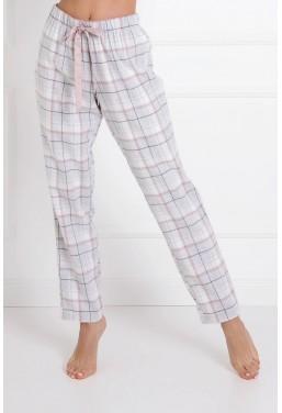 Spodnie piżamowe damskie z...